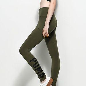 Puma Olive Green Leggings